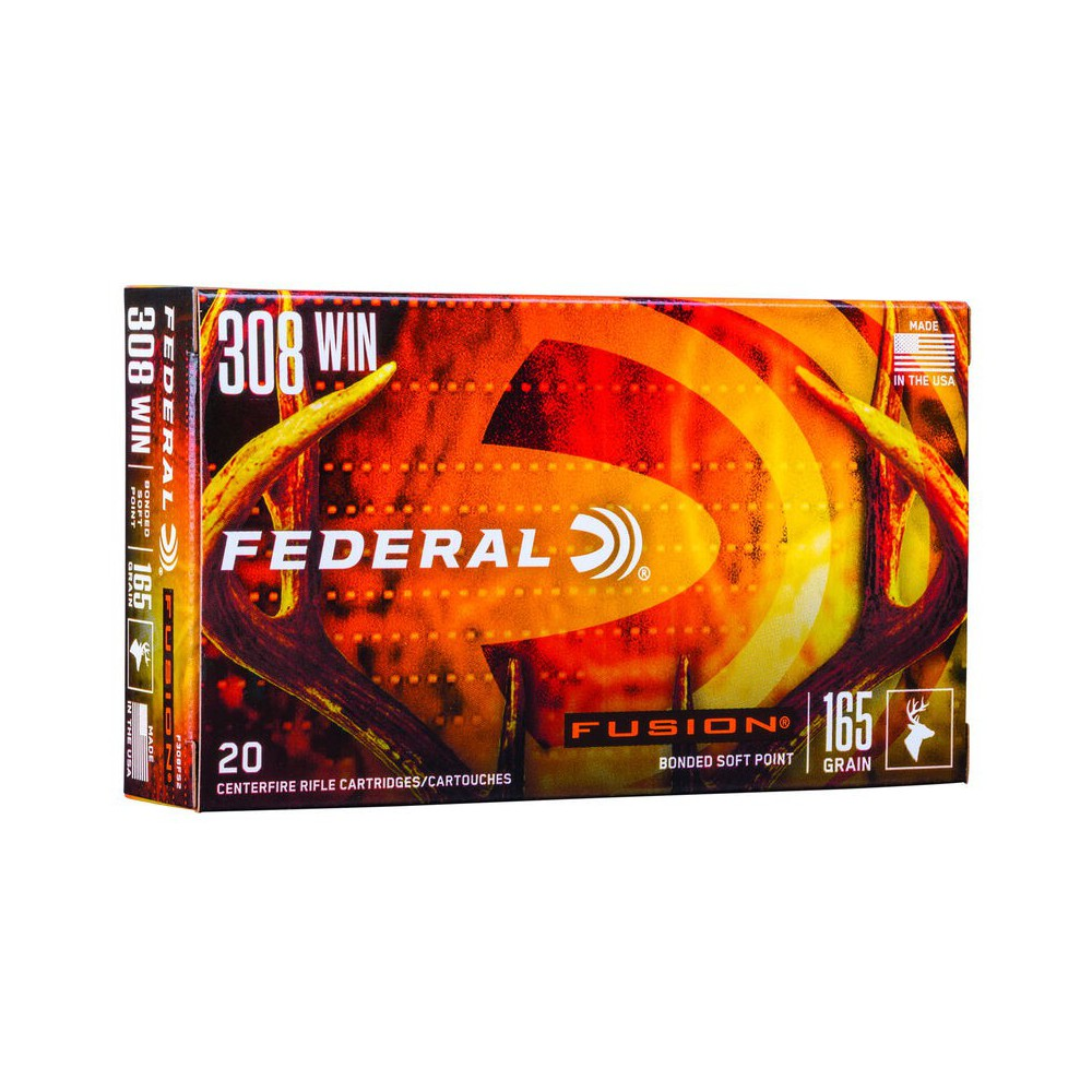 Federal 308 WIN FUSION 165 gr