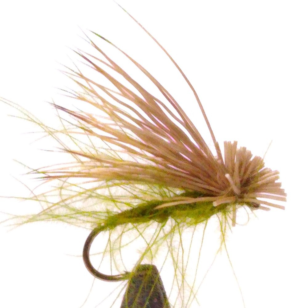 MOSCA ELK HAIR CADDIS OLIVE...