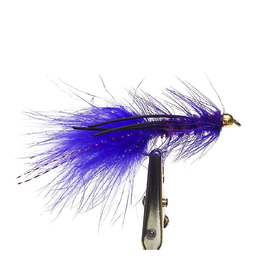 MOSCA WOOLY BUGGER PURPLE...